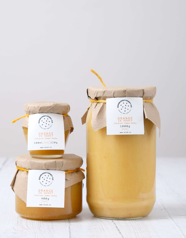 Orange Infused Honey by Edinburgh Honey Co