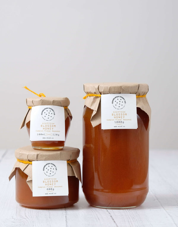 Raw Scottish Blossom Honey by Edinburgh Honey Co.