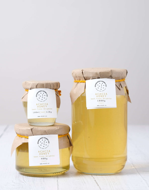 Raw Acacia Honey by Edinburgh Honey Co.