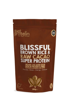 That Protein 100% Vegan Protein Powder Blissful Brown Rice and Raw Cacao Super Protein Powder