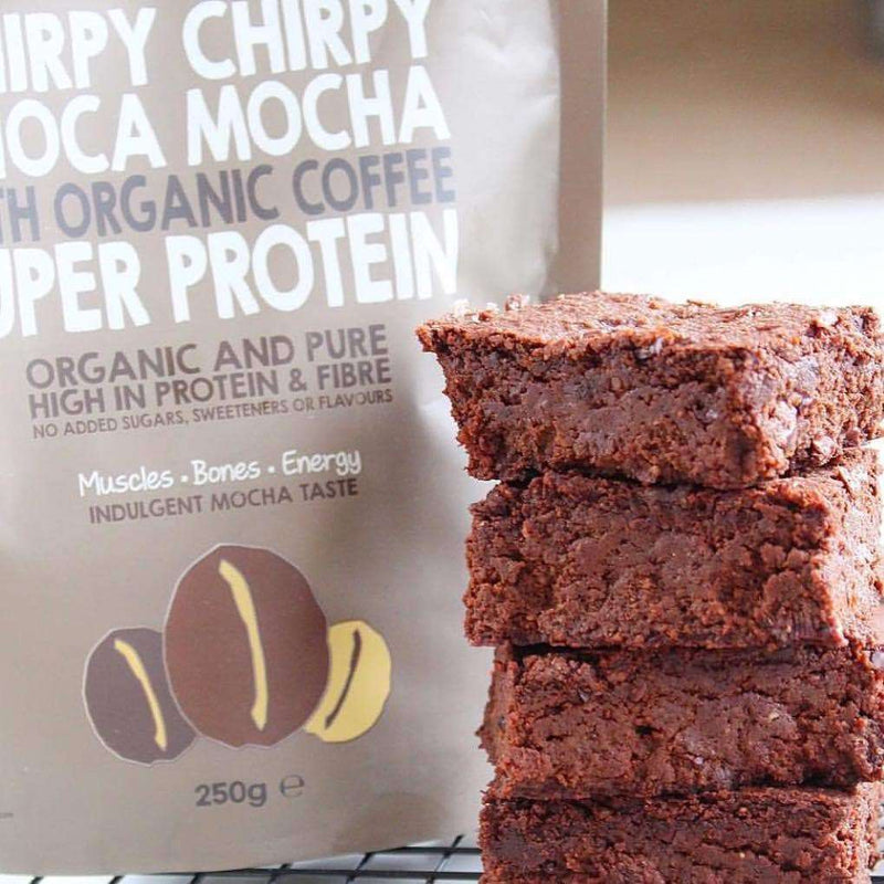 Chirpy Chirpy Choca Mocha Super Protein Powder , 100% Vegan Protein Powder  - Life By Equipe