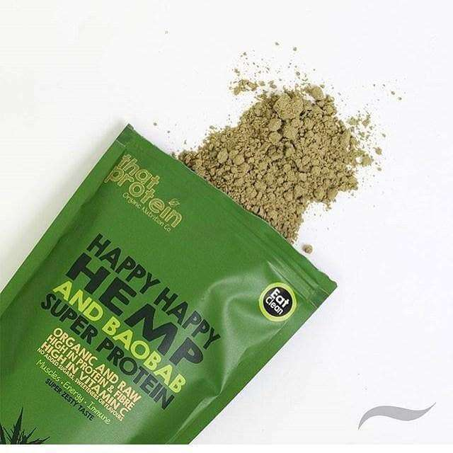 Happy Happy Hemp and Baobab Super Protein Powder , 100% Vegan Protein Powder  - Life By Equipe