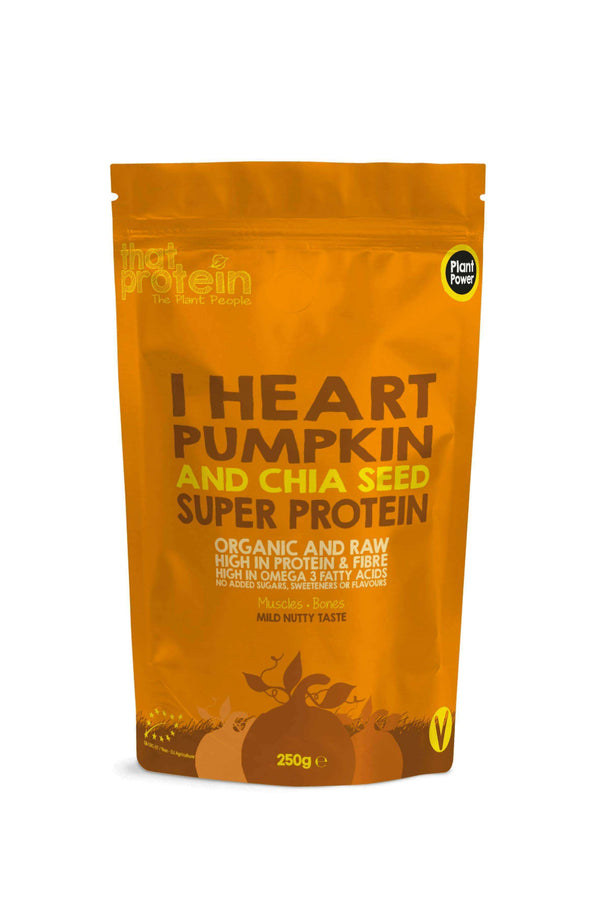 I Heart Pumpkin and Chia Seed Super Protein Powder , 100% Vegan Protein Powder  - Life By Equipe