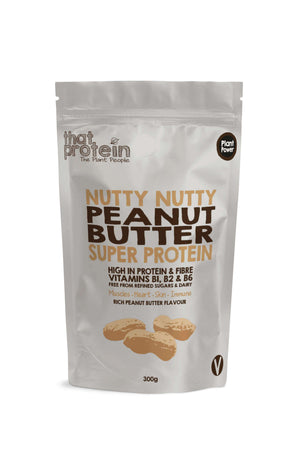 That Protein 100% Vegan Protein Powder Nutty Nutty Peanut Butter Super Protein Powder