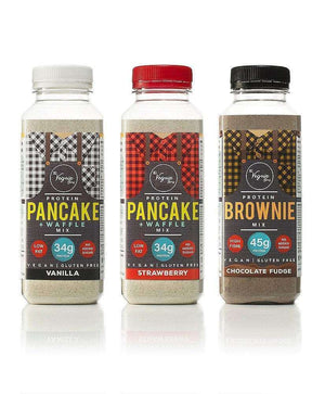 Vegan Protein Pancake, Waffle and Brownie Mix Bundle , Ingredients  - Life By Equipe