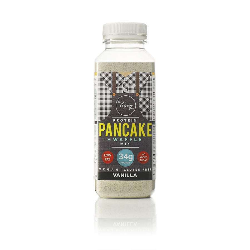 Vegan Vanilla Protein Pancake and Waffle Mix , Ingredients  - Life By Equipe