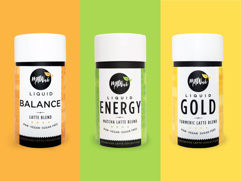 Set Of 3 Flavours Vegan Latte Blends by MAWish