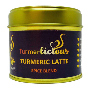Turmeric Latte - Barista Blend of Spices 100g - Sugar Free , Turmeric Latte  - Life By Equipe