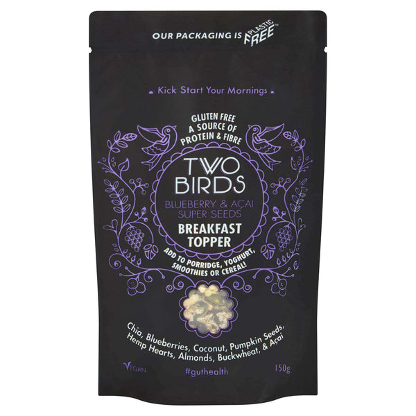 Blueberry & Acai Super Seeds Breakfast Topper , Breakfast Toppers  - Life By Equipe