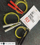 High Quality Competition Jump Rope - Vropes Fire 2.0 , Equipment  - Life By Equipe