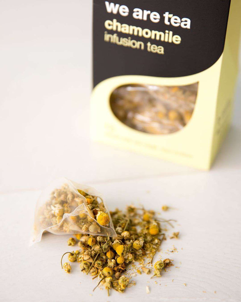 We Are Tea Tea Chamomile Whole Leaf Tea Bags - We Are Tea