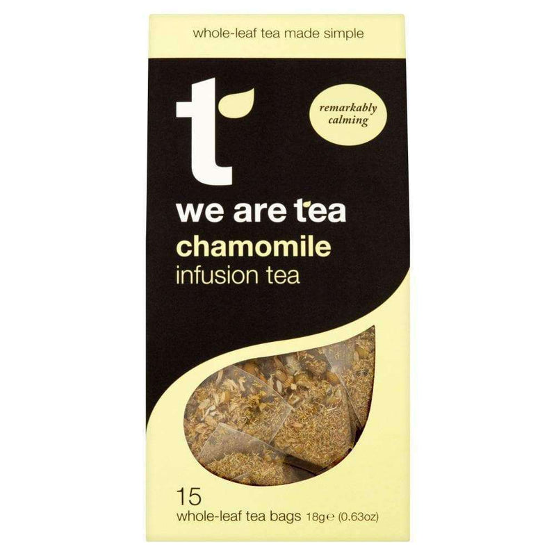 Chamomile Whole Leaf Tea Bags - We Are Tea , Tea  - Life By Equipe