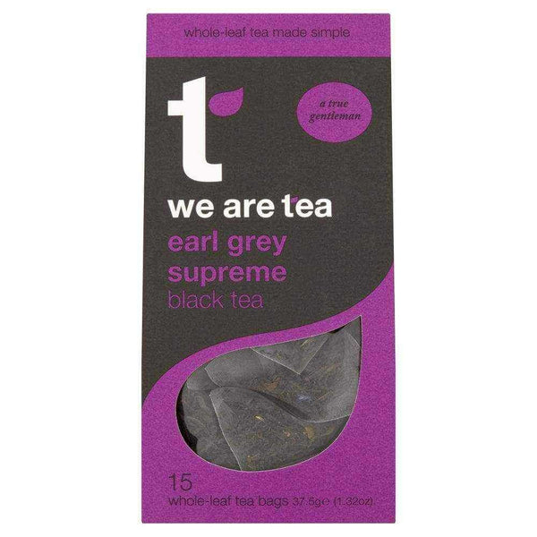 Earl Grey Supreme Whole Leaf Tea Bags - We Are Tea , Tea  - Life By Equipe