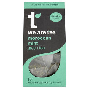 Moroccan Mint Whole Leaf Tea Bags - We Are Tea , Tea  - Life By Equipe