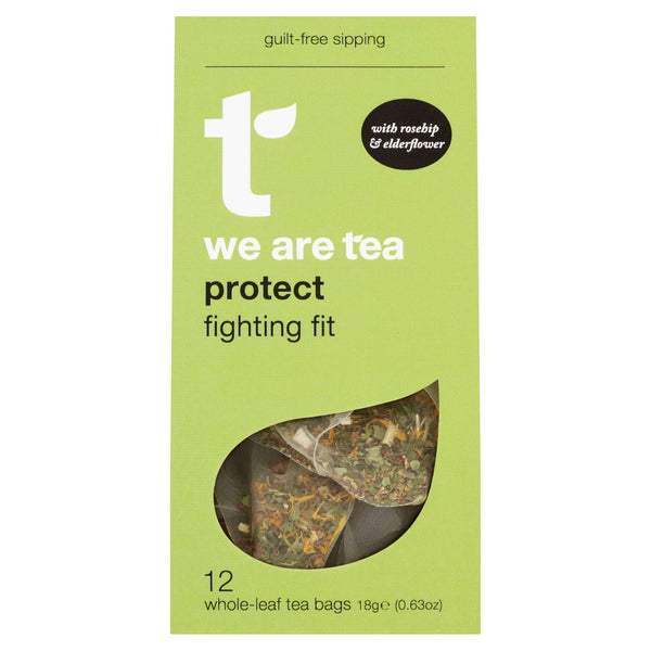 We Are Tea Tea Protect Whole Leaf Tea Bags - We Are Tea