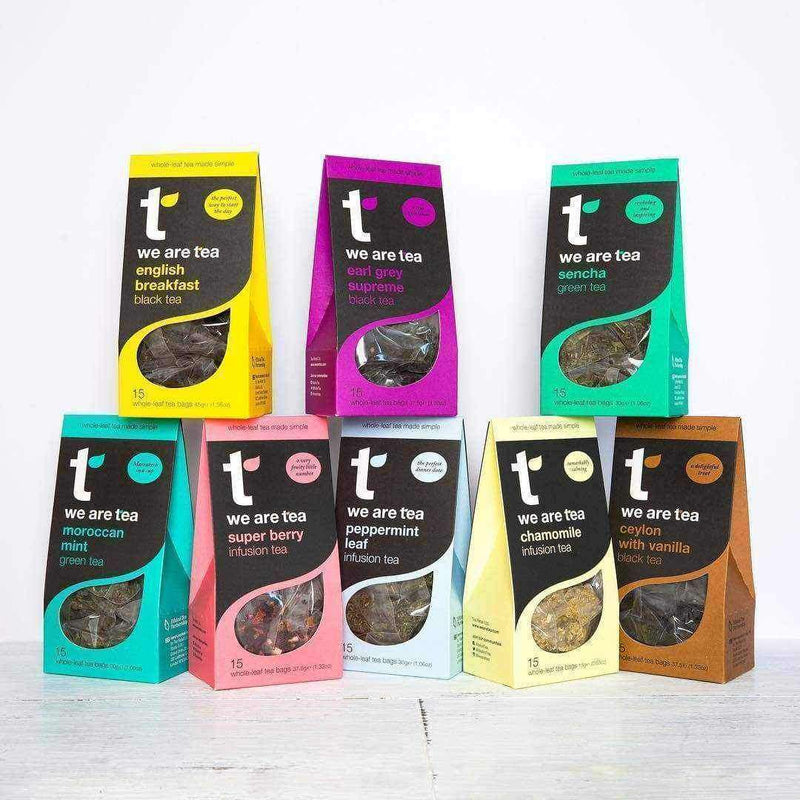 Sencha Whole Leaf Tea Bags - We Are Tea , Tea  - Life By Equipe