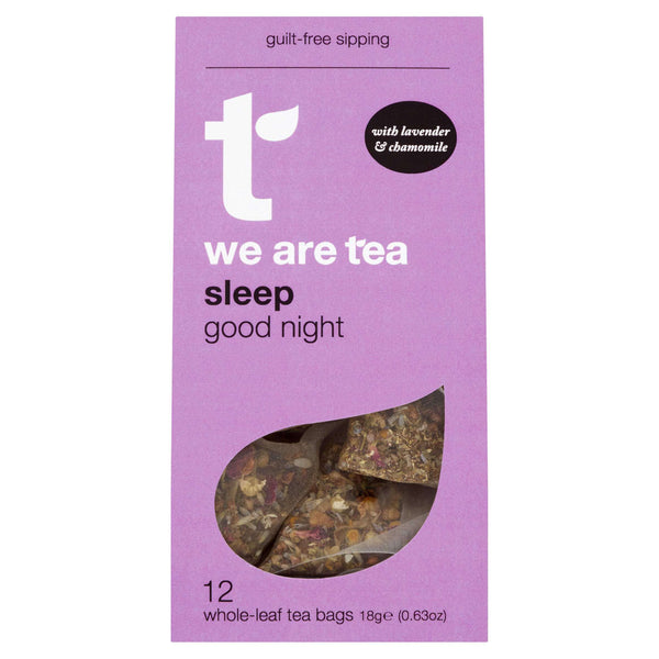 We Are Tea Tea Sleep Whole Leaf Tea Bags - We Are Tea