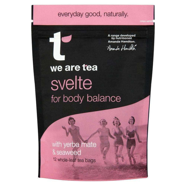 Svelte Whole Leaf Tea Bags - We Are Tea , Tea  - Life By Equipe
