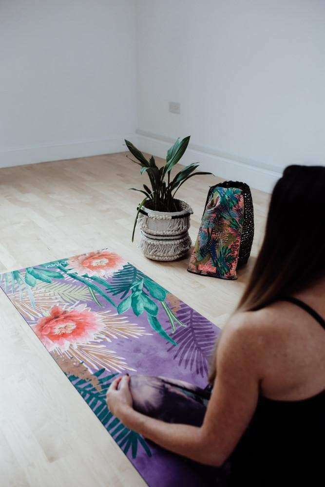 Tropicana Placement Orchid Yoga Mat , Mat  - Life By Equipe