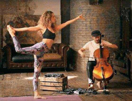 Restorative Yoga Flow & Live Music 60 Min Video Workshop by YO-MU , Video Download  - Life By Equipe