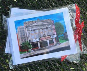 Carolina Theater Note Cards