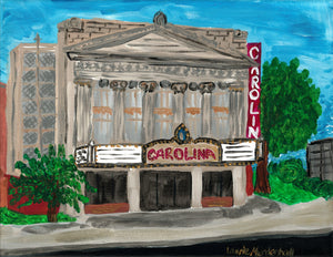 Carolina Theater 11 x 14