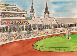 Off to the Races Print - 8 x 10