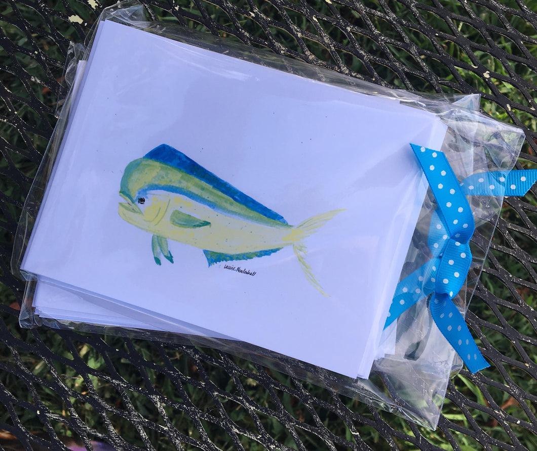 Big Fish Note Cards