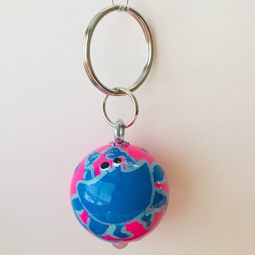 Blue Crab Key Fob