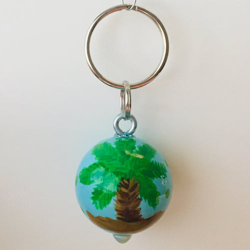 Palm Tree Key Fob