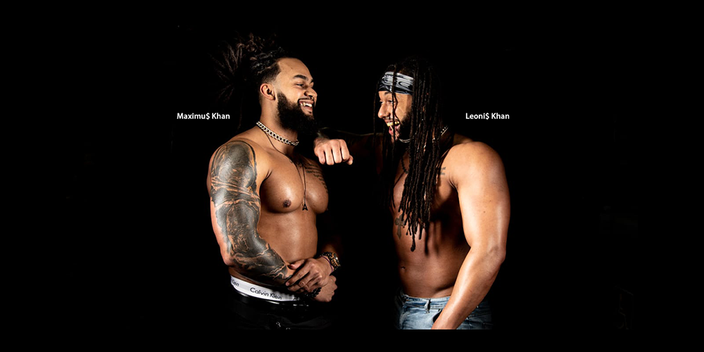 Pro Wrestlers King's Ran$om Leave Their Mark In and Out of the Ring