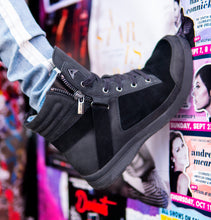 Load image into Gallery viewer, The CALI - Black Suede