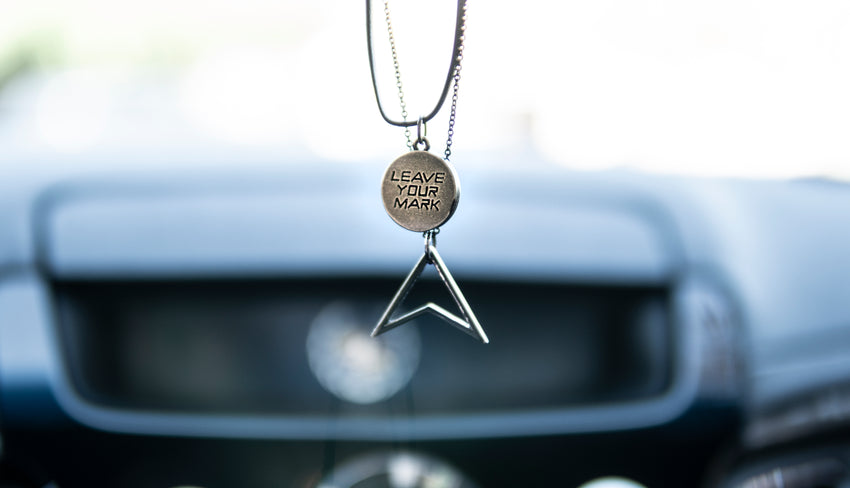 Coin Pendant - Leave Your Mark