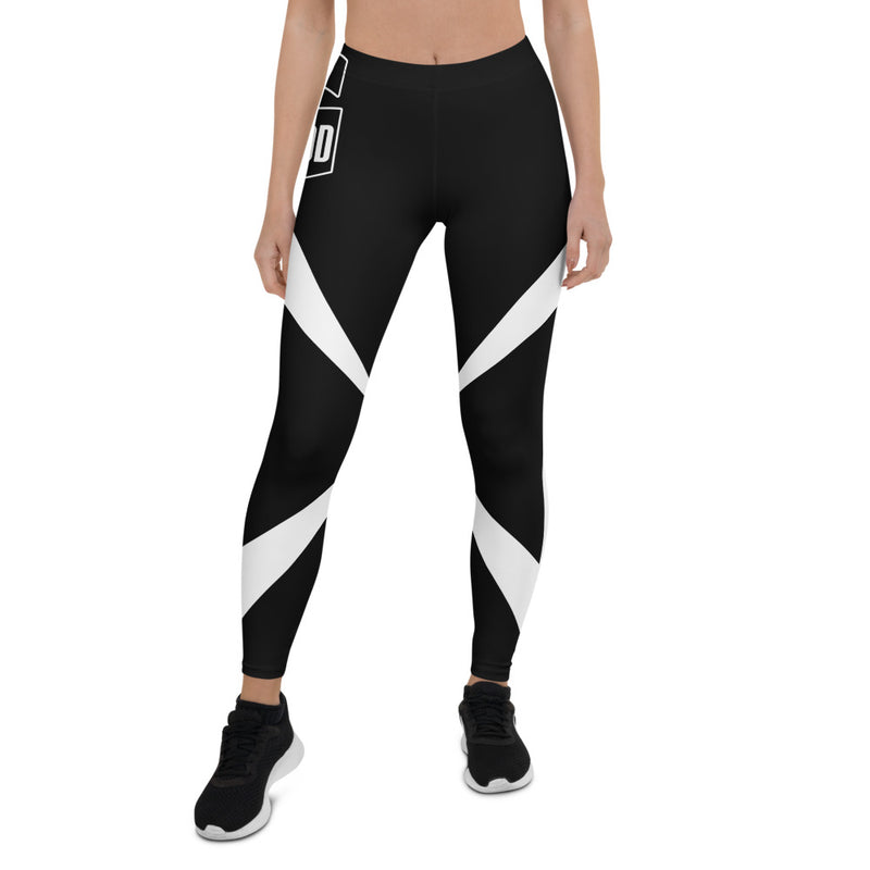 BOD BY GOD BLACK AND WHITE LEGGINGS