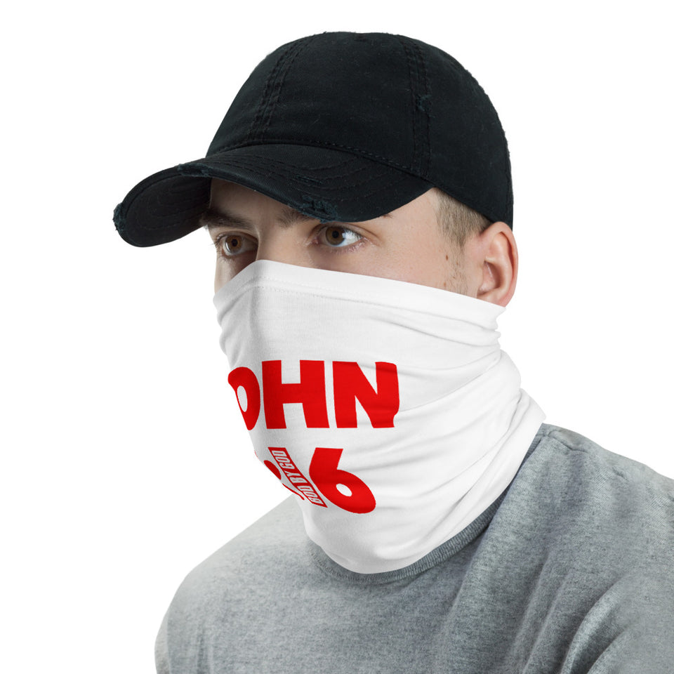 JOHN 3:16 BOD BY GOD NECK GAITER