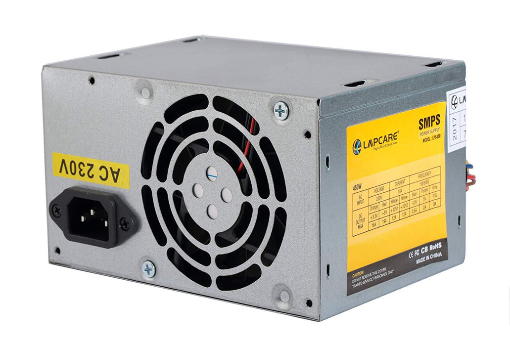 Lapcare PS3 450W SMPS | Computer Power supply