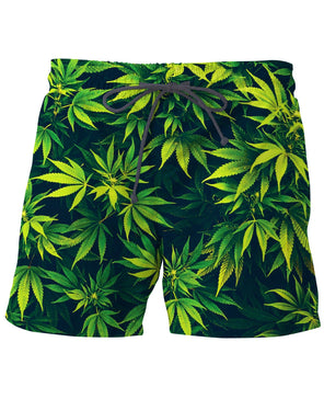 Weed Swim Trunks
