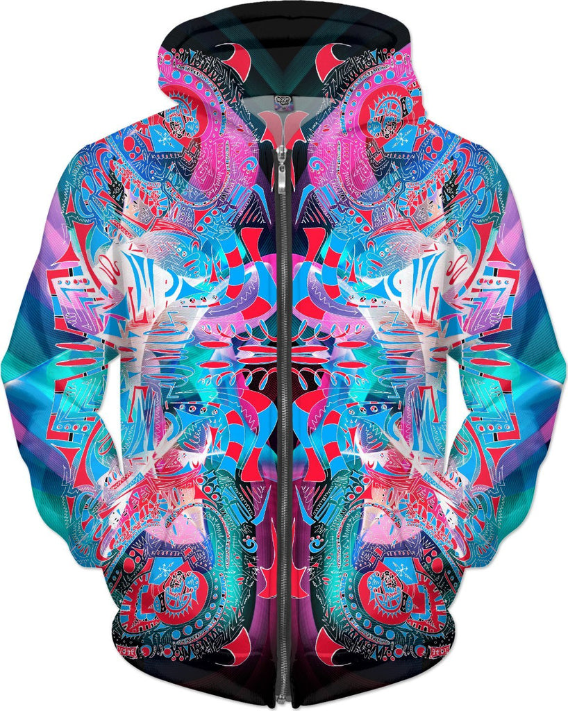 Hyperdimensional Butterfly 4 Hoodie - RaveSQUAD