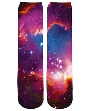 Cosmic Forces Crew Socks - RaveSQUAD