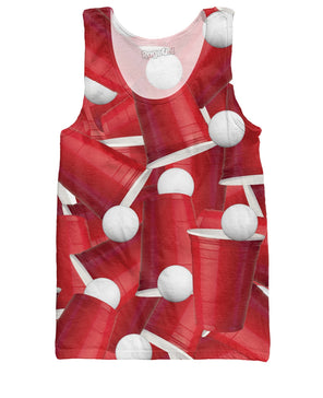 Beer Pong Tank Top - RaveSQUAD