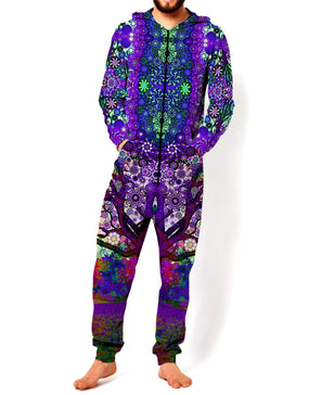 Limited Edition Purple Trip Tree Onesie - RaveSQUAD