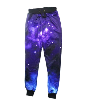 Purple Galaxy Sweatpants