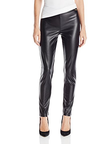 Calvin Klein Women's Pleather Front Leggings