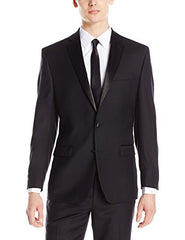 Calvin Klein Men's Modern Fit 100% Wool Tuxedo Separate Jacket