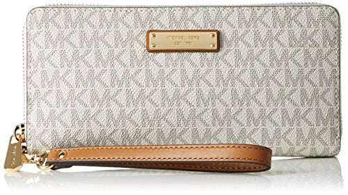 Michael Kors Jet Set Travel Logo Continental Wallet