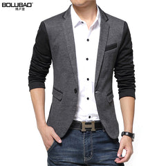 2017-18 New Fashion Casual Men Blazer Cotton