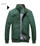 New 2017-18 Jacket Men Fashion Casual Loose  Sportswear Bomber for Men Size M- 5XL