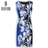 Geller Fuuk 2017-18 New Fall Women Dress Sleeveless