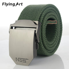 Tactical belt Top quality 4 mm thick 3.8 cm wide canvas belt for Men
