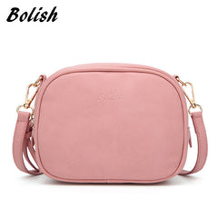 Bolish Soft Nubuck Leather Women Crossbody Bag Fashion Spring and Summer Women Shoulder Bag small Tassel Flap Women Bag